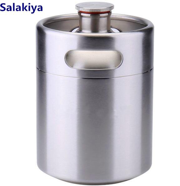 10L Mini Beer Keg/Tank, Sanitary Stainless Steel 30410L Mini Beer Keg/Tank, Sanitary Stainless Steel 304