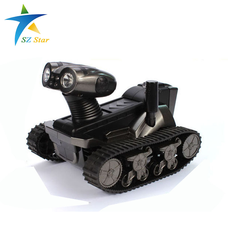 intelligent rc robot toys metal tank chassis Model remote control robot control with camera roboactor finished goods for grownup