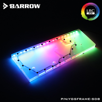 Acryl Bord Wasser Kanal verwenden für IN WIN SFRAME Computer Fall/Schraube Fix/Statt Reservoir/5 V 3PIN RGB Licht/Combo DDC
