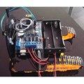 Bluetooth Caterpillar Транспорт Трек Автомобиль Умный Автомобиль для Arduino Android