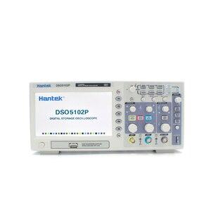 Image 2 - Цифровой осциллограф Hantek DSO5102P, 100 МГц, 2 канала, 1GSa/s, частота дискретизации в реальном времени, USB осциллограф