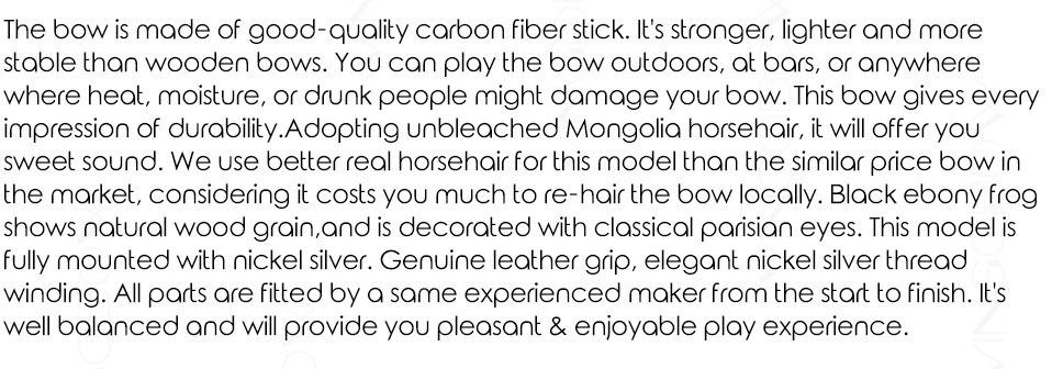 100c balck simples fibra carbono cello arco