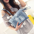 Simple Vintage Envelope Shoulder Crossbody Pouch Women Clutch Bag