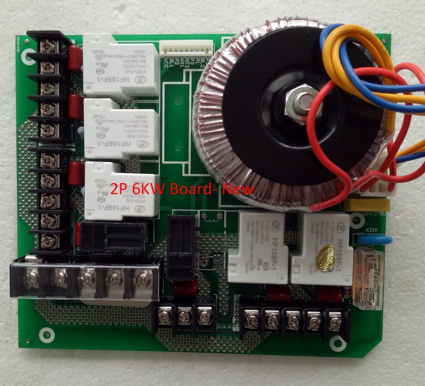 Image 2 - New Version KL8 3 Controller pack Power board for 2 Pump and 6KW heaterGenerator Parts & Accessories   -