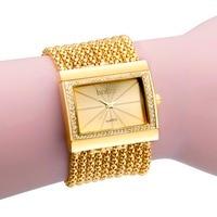 Luxury Diamond Bracelet Watch Women Bling Crystal Watches Vintage Formal Wedding Party Quartz Watch Fashion Relogio