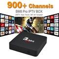 Octa Core Europe Arabic IPTV 900 Channels In Box BM8PRO S912 2GB 32GB Android 6.0 Dual Wifi Smart TV Box KODI Free IPTV Loaded