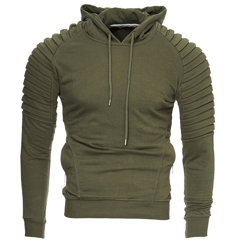 Mens Womens Fleece Plain Hoodie Sweatshirt Hooded Pullover Casual Gym Top