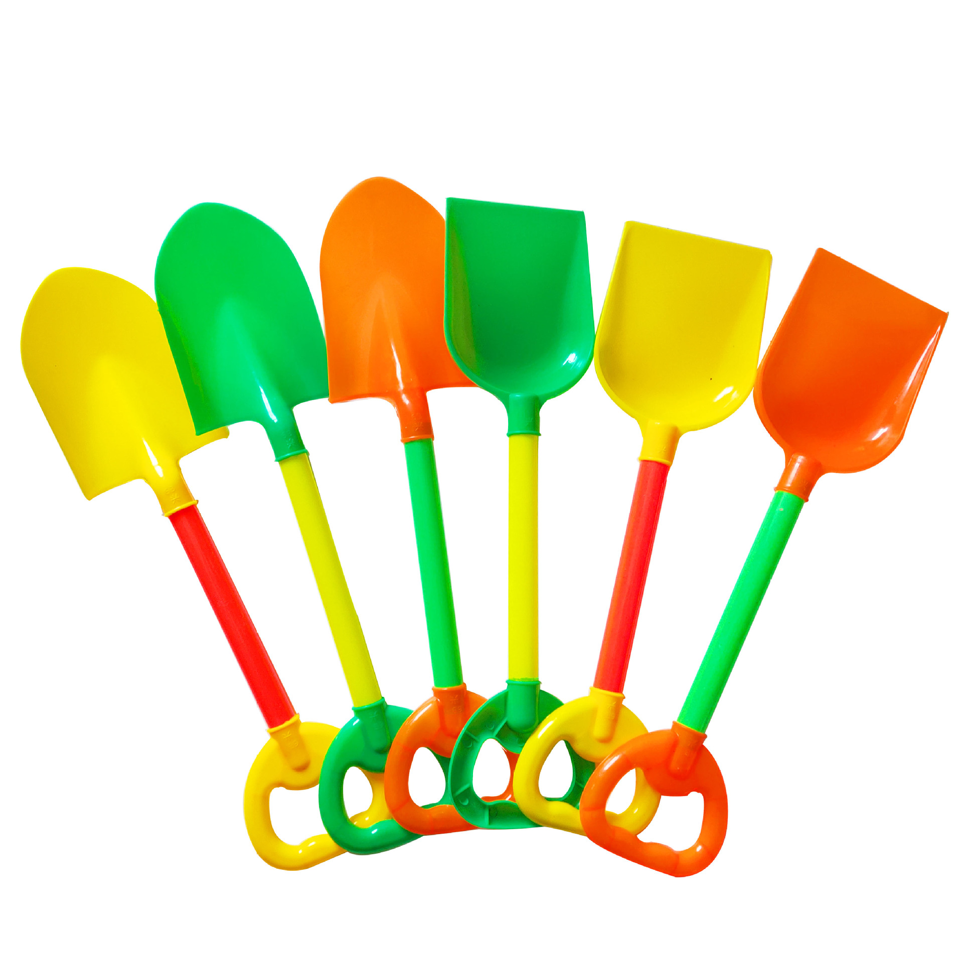 1pc Beach Toy Shovels Kids Play Sand Shovel Snow Tools Summer Seaside Dig Sand Shovel Soil Water Toys