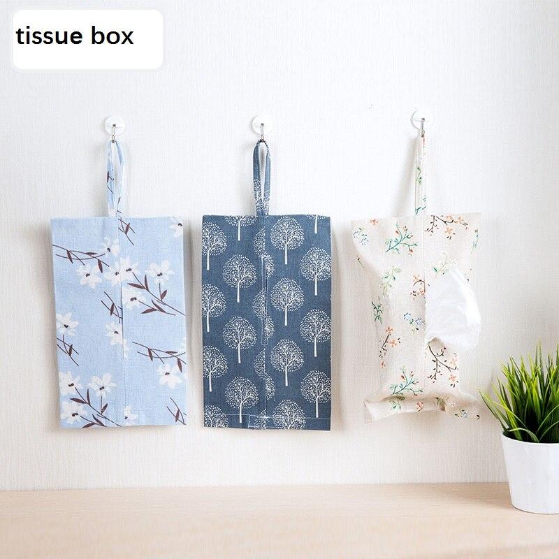 caja de pauelos de tela de toalla de papel juegos de toallas de papel colgando de