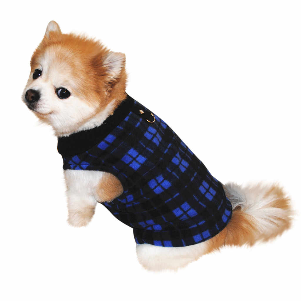 2018 New Arrival Pet Dog Cat Villus Warm Vest Puppy Doggy Apparel Clothing 01.09