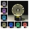 Buddha 7 mudando a cor Night Lamp 3D Bulbificação ilusão visual Do Coração de Luz LED para as crianças presentes de Natal brinquedo Luz Da Noite
