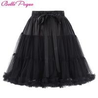 Mini Tutu Skirts Womens Underskirt Crinoline 3 Layers Fluffy Pettiskirt Retro Vintage Women Silps Rockabilly Tulle