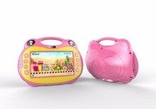 Обучения детей tablet pc системы Android Quad core установлен лучшие подарки для детей пение планшет с 2 Micro