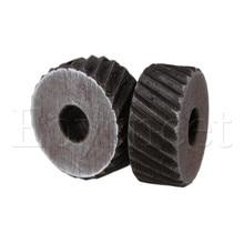 Серебро 2 мм противоскользящая грубая Диагональ knorl колесо для металла токарный станок упаковка из 2