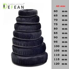 Defean All size Velour Memory Foam Earpads   Suitable for  Sennheiser, AKG, HifiMan, ATH, Philips, Fostex, Sony headphone