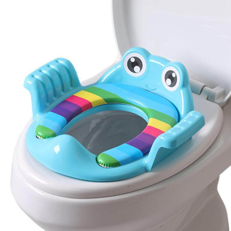 Children'S Toilet Seat Toilet Potty Training Cartoon Aid Baby Seat Washer Men And Women Baby Seat Ring(China)