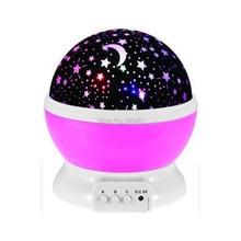 New Led Light Projector Lamp Romantic Rotating Cosmos Star Sky Moon Projector,otation Night Lamp Kids Bed Lamp HK800523