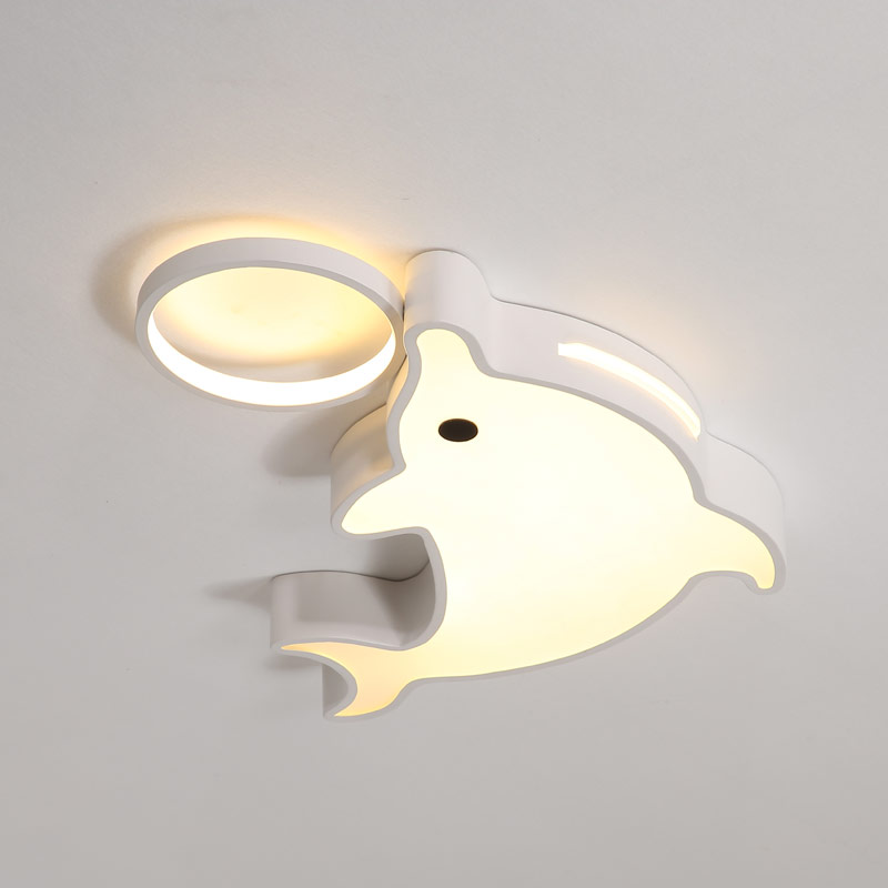 Здесь можно купить  Modern Led Ceiling Lamp Living Room Light Kid Bedroom lustre With Remote Control Home Decor Lighting Fixtures White Metal 220V  Свет и освещение