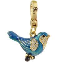 fashion jewelry wings blue lark bird pendant valentine female JF3201 pendant necklace watch sterling wings USA JF wholesale