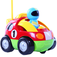 JJRC Good Quality Lovely Cartoon Race Car With Music And Lights Electric Radio Control Policeman Car