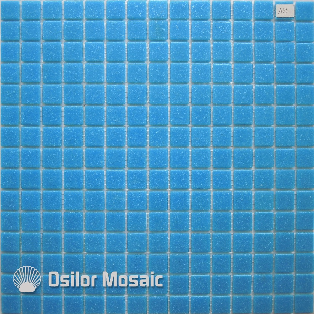 Closeout Free shipping blue glass mosaic tile swimming swimming pool ...