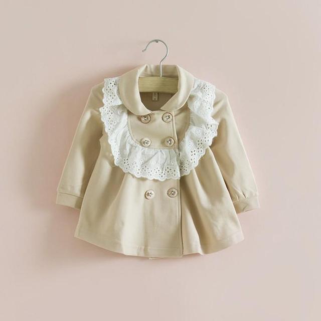 Varejo 2017 crianças roupas meninas queda jaquetas outwear primavera outono marca de moda crianças jaqueta casaco baby baby clothing