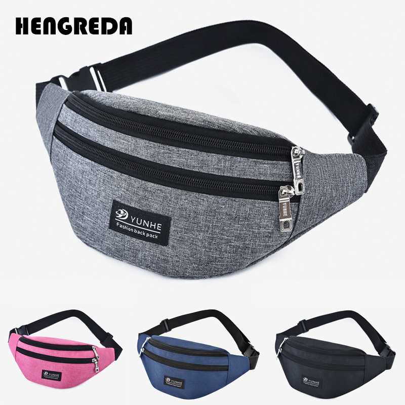 Waist Packs Trustful 2019 Women Fanny Pack Fashion Men Waist Bag Women`s Belt Bag Colorful Travel Bum Belt Bag Hengreda Phone Zipper Pouch Packs