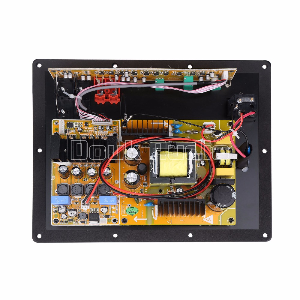 280W High Power Subwoofer Amplifier Digital HiFi Integrated Board For Speakers new assembly high power 280w 1 0 digital hifi subwoofer amplifier board active amplifier board home amplifier for subwoofer