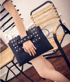 Rivet Women Clutches Bags For Women Envelope day clutches Shoulder wristlet clutch Bag Luxury Cross Body Female purse Handbag