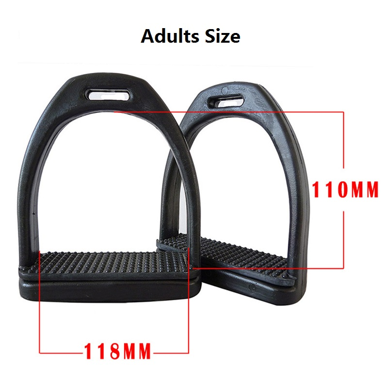 Image 4 - High Quality Plastic stirrup with Rubber Treads anti slip pad ,size:Kids/Adults Size,Horse product-in Iding Crops & Spurs from Sports & Entertainment