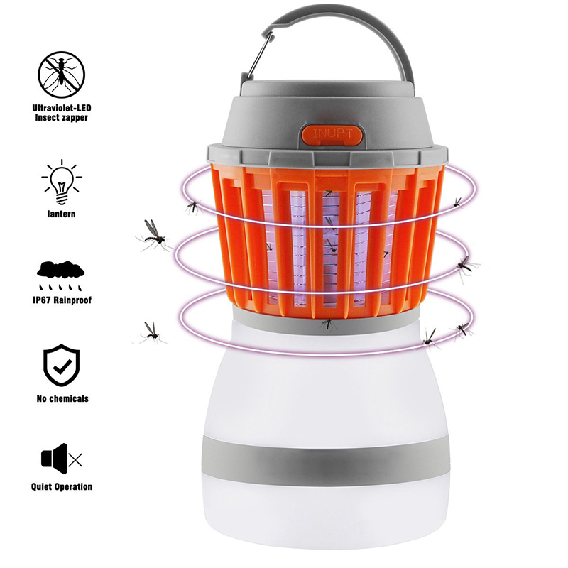 Зарядка через usb Mosquito Убийца лампы светодиодный свет Fly электрические лампы от комаров Кемпинг мухобойка комаров уничтожитель насекомых ло... ...