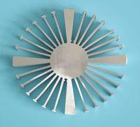 30W LED Sunflower Radiator Sunflower Aluminum Radiator Diameter 160mm Solid 54mm High 55mm Thin LED Cool