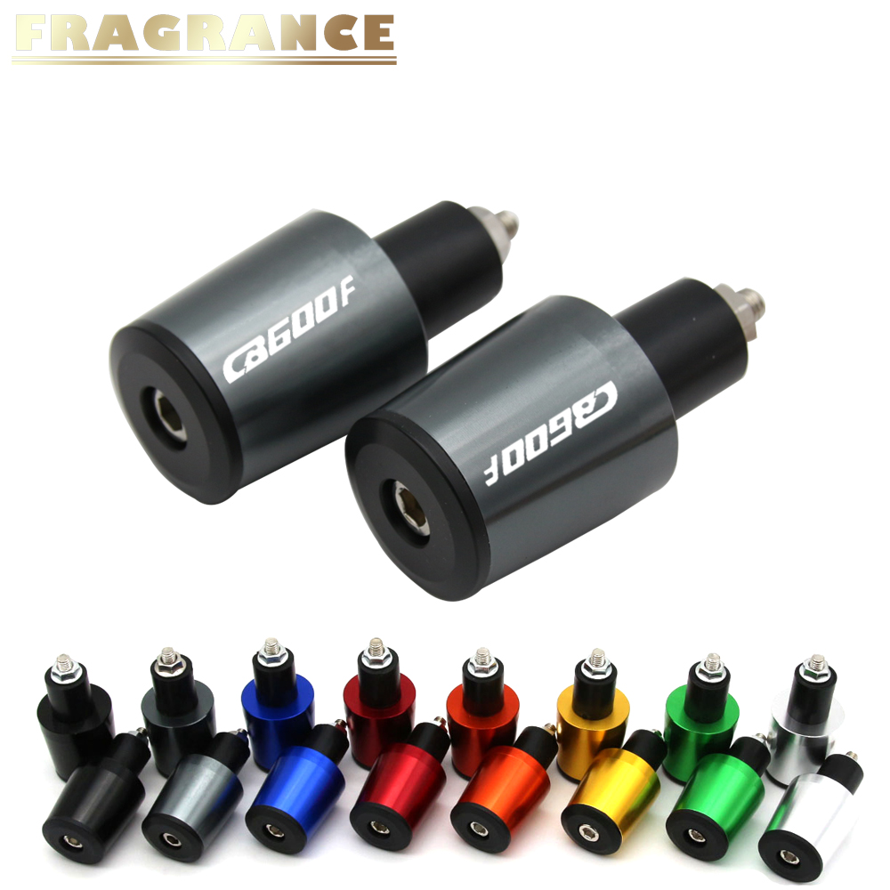Motorcycle Accessories 7/8'' 22MM Handlebar Grips Handle Bar Cap End Plugs For Honda CB600F CB <font><b>600</b></font> F <font><b>Hornet</b></font> 2007-2013 <font><b>2008</b></font> 2009 image