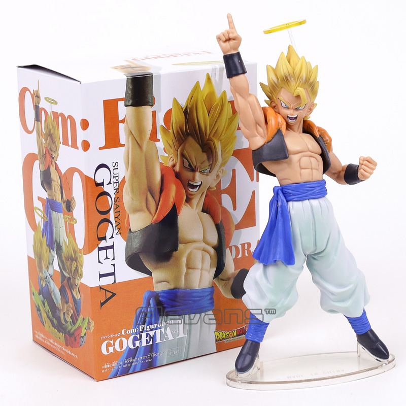 Dragon Ball Z Com Figuração vol.1 Gogeta Super Saiyan PVC Figura Collectible Toy Modelo