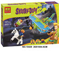 Bela 10429 Scooby Doo Momia Museo Misterioso Avión Juguetes de Bloques de Construcción Lepin