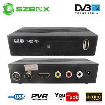DVB-T2 DVB-T Satellite Receiver HD Digital TV Tuner Receptor MPEG4 DVB T2 H.264 Terrestrial TV Receiver DVB T Set Top Box vs K3 - DISCOUNT ITEM  39% OFF All Category