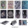For Apple IPad Pro 9 7 Case Fashion Animal Cartoon Pattern PU Leather With Card Slot