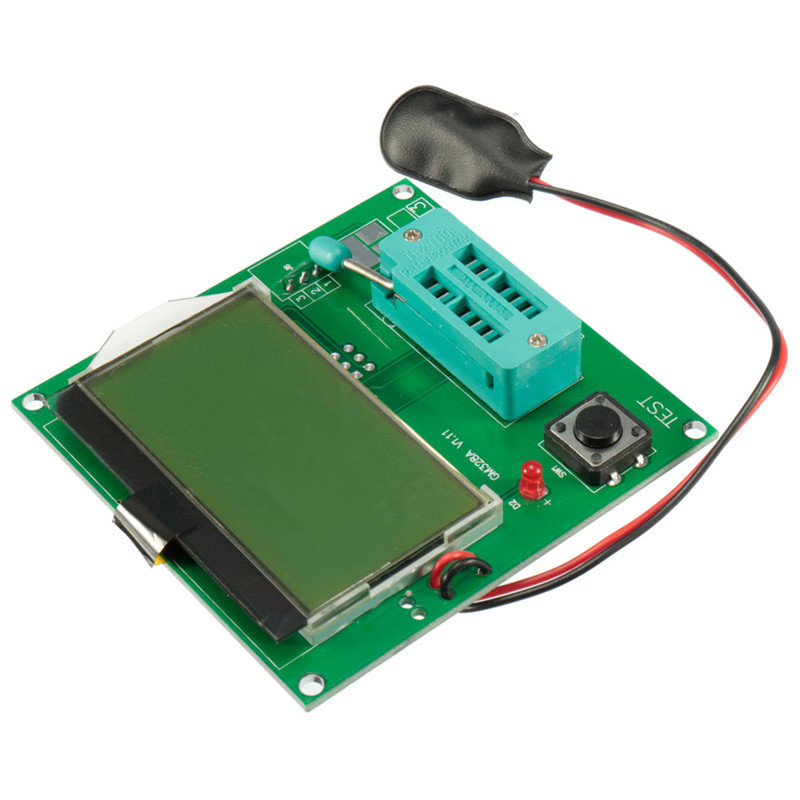 1PC New Arrival All-in-1 Component Tester Transistor GM328 Lcd Display ESR Meter Cymometer Square Wave Generator