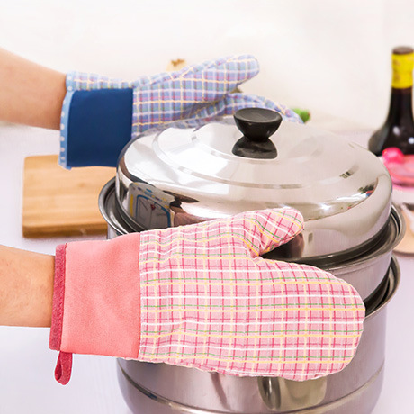 Oven Mitts Bakeware Kitchen,Dining & bar Home & Garden Microwave oven gloves insulating high temperature BBQ gloves 2016 quality