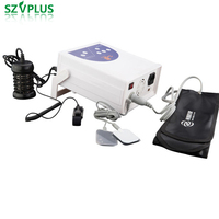 Hot selling 5 years Ion Detox Foot Spa Machine Ionic Detox Foot Bath machine with infrared TENS acupuncture waist belt