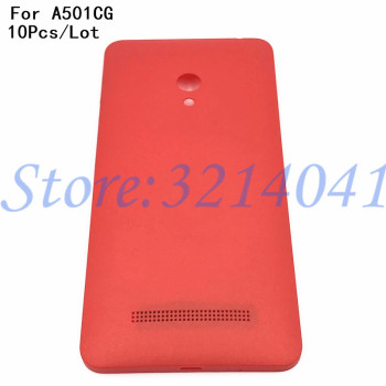 10Pcs/Lot New Battery Back Cover For ASUS Zenfone 5 Back Cover Case A501CG A500CG A500KL Battery Rear Door +With Logo