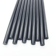 7MM Black Color Hot Melt Glue Sticks For Electric Glue Gun Car Audio Craft Repair Sticks Adhesive Sealing Wax Stick 10 pc