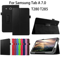 2016 PU Leather Case For Samsung Galaxy Tab A A6 7 0 Inch T280 T285 SM