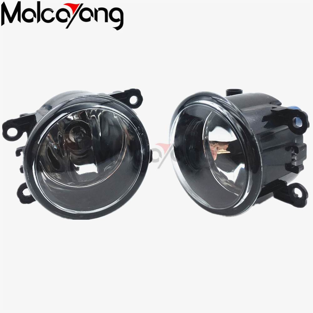 2 Pcs/Set For LAND ROVER FREELANDER 2 LR2 FA_ Closed Off-Road Vehicle 2006-2014 Car styling LED fog Lights high brightness for land rover range rover sport freelander 2 discovery 4 2006 2014 car styling led fog lights lamp crystal blue blue 12v