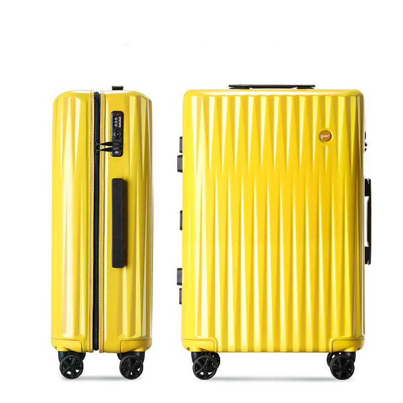 Fashion 20'24'26'29' Zipper Unisex Travel Large Capacity Top Quality Luggage Rolling Trend Luggage Rolling Trolley