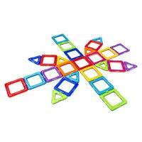 40Pcs Magnetic Kids Toys Educational Similar Magformers Brand 3D Magnetic Blocks Toy Diy Building Bricks