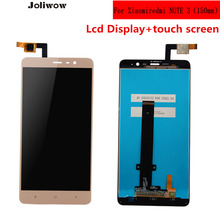цены на tested! FOR 150mm Xiaomi Redmi Note 3 PRO Lcd Display+touch screen For Hongmi Note 3 Pro Replacement Accessories  Give case  в интернет-магазинах