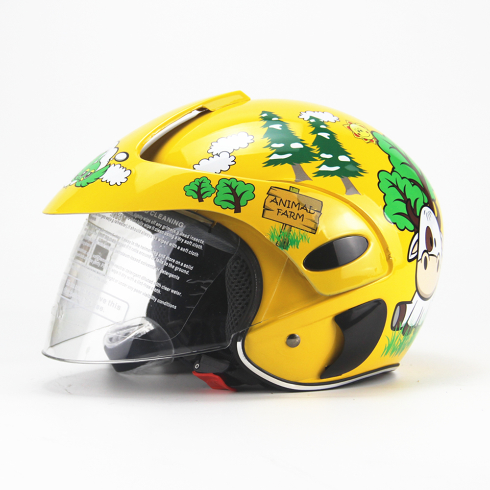 Children Full Face Motorcycle <font><b>Helmet</b></font> <font><b>Kids</b></font> Motocross Motor <font><b>Helmet</b></font> Comfortable Protective Safety <font><b>Helmets</b></font> Capacete <font><b>Moto</b></font> image