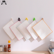 5pcs/lot Absorbent Microfiber Kitchen Dish Cloth High-efficiency Tableware Household Cleaning Towel Tools Gadgets