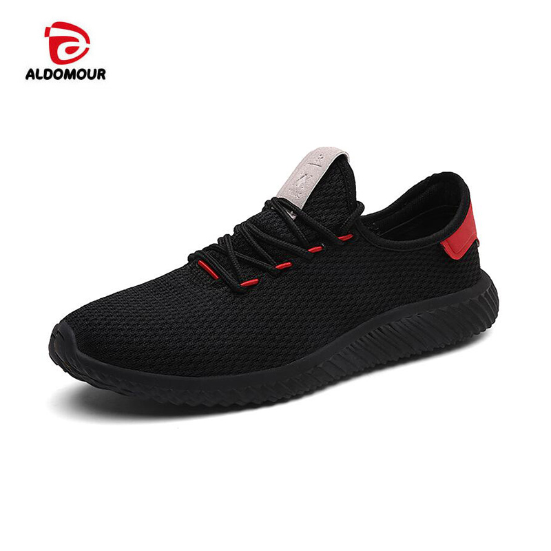 ALDOMOUR Mens Sports Shoes Running Slip-on Mesh Shoe Sneakers Women 2017 Breathable Zapatillas Deporte Mujer Sock Shoes 021